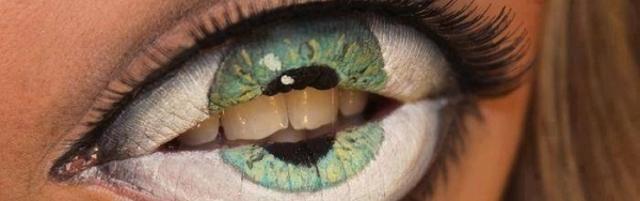 Un maquillage qui va vous manger, image de Serir Walid sur Flickr