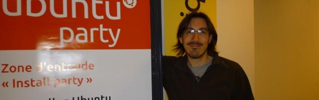 Photo d'Olivier Fraysse, alias Olive, développeur informatique, vice-président de l'association Ubuntu-fr