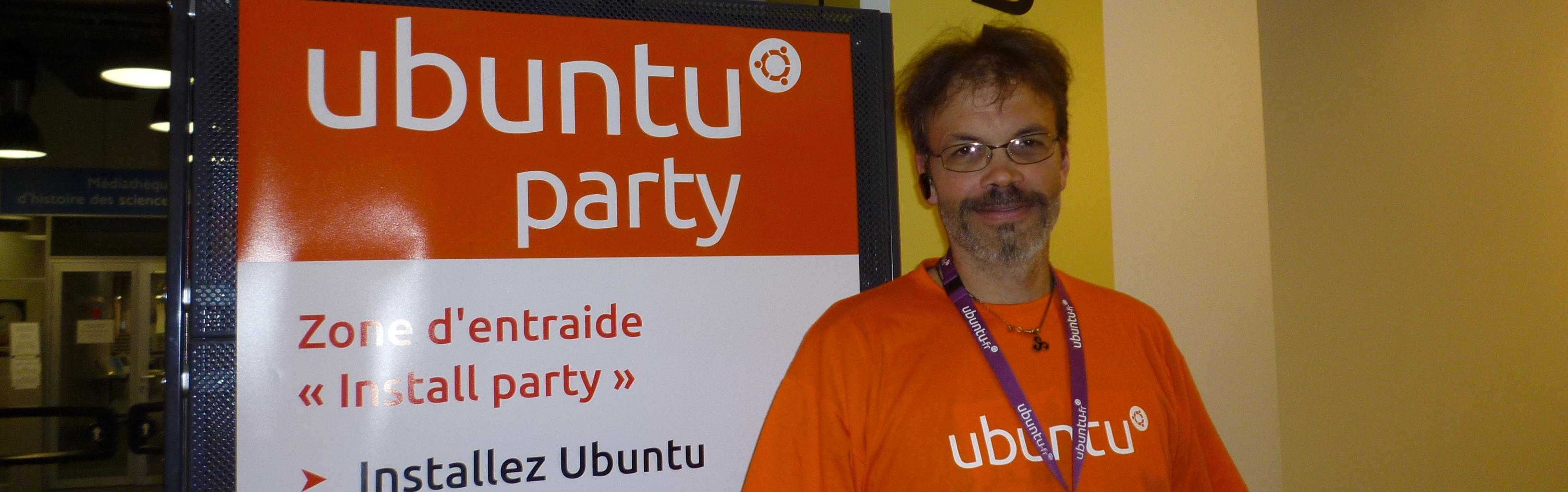 Pierre Pavard, vice-président de l'association Ubuntu-fr